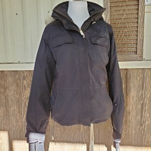 Lole winter jacket gray insulated size S